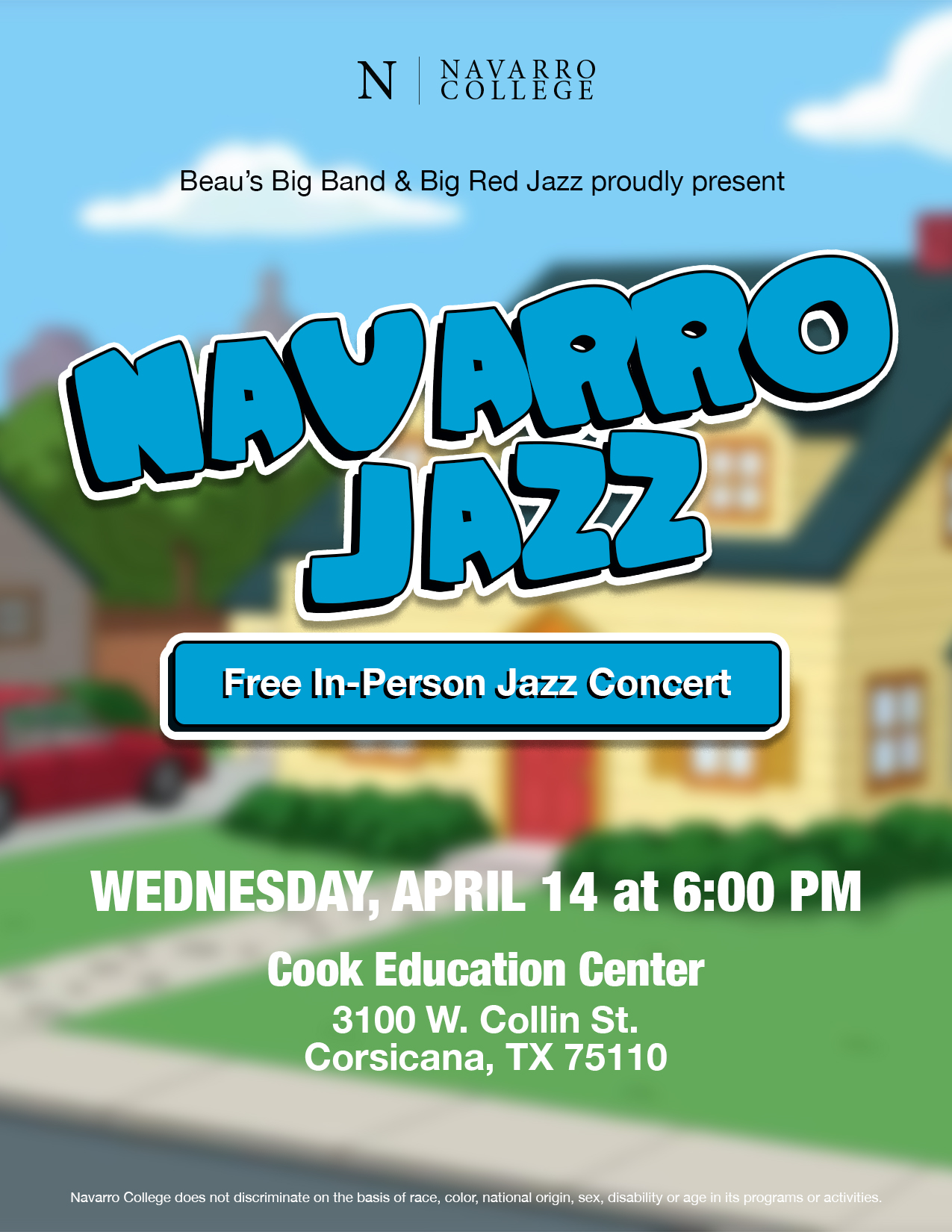 Navarro Jazz Family Guy Concert
