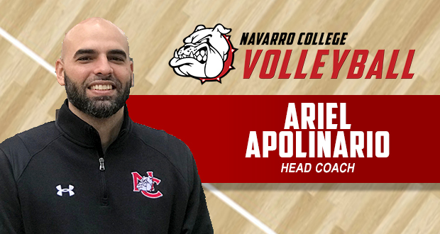 Apolinario Named NC Head Volleyball Coach