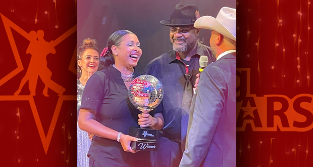 Raychaun and Samara Ballad Win Big at the Dancing for Our Stars 2021 Event
