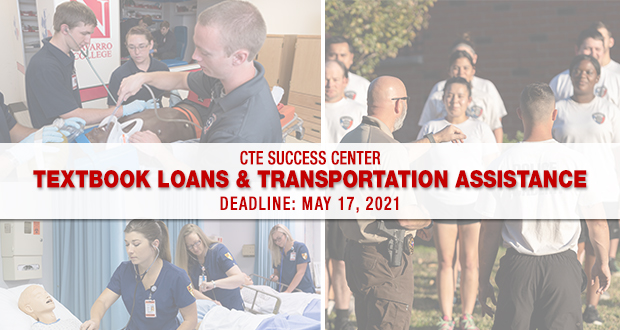 Perkins CTE Success Center- Applications for Summer 2021 Assistance Available