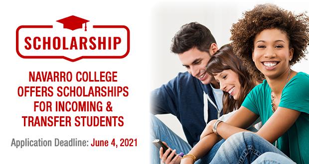 Scholarship Application Deadline June 4, 2021