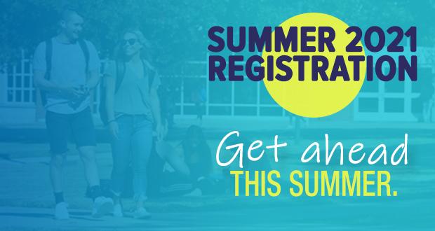 Registration is still open for 2021 summer courses