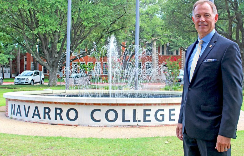 Navarro College Welcomes New President