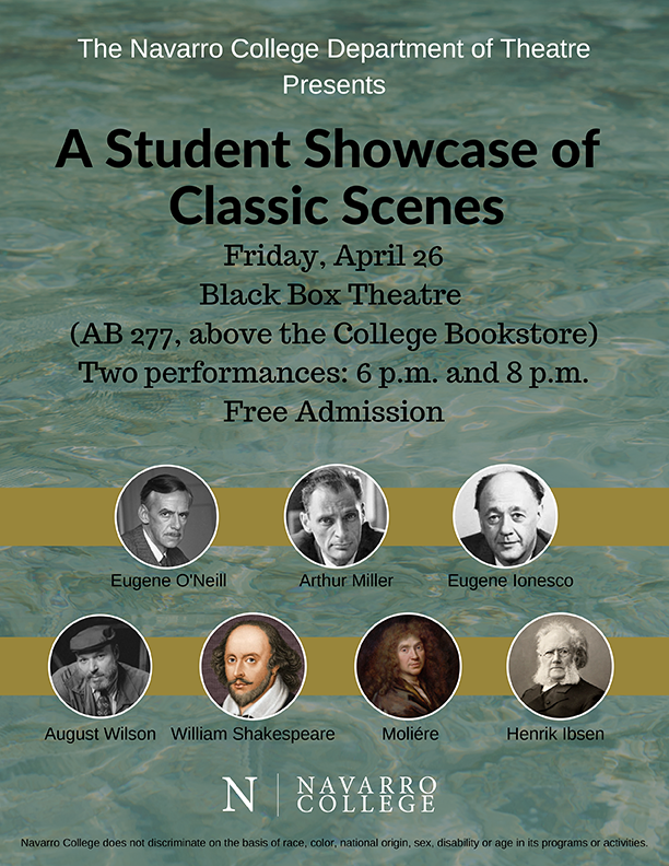 NC Theatre Presents: Student Showcase of Classic Scenes