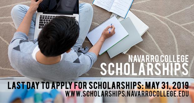 Scholarship Deadline May 31, 2019