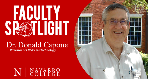 Faculty Spotlight: Dr. Donald Capone