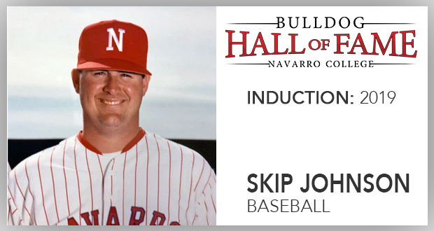 Navarro News | Bulldog Hall of Fame Inductee – Skip Johnson