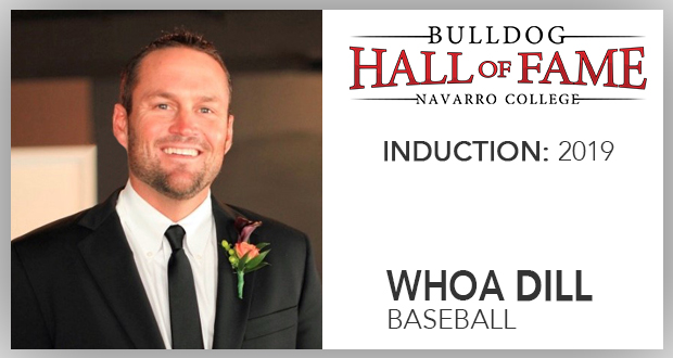 Navarro News | Bulldog Hall of Fame Inductee – Whoa Dill