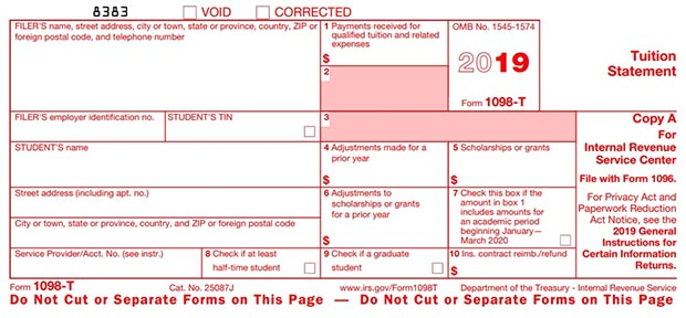 Form 1098-T Electronic Consent and Retrieval