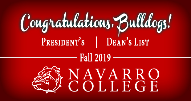 Fall 2019 President's and Dean's Lists