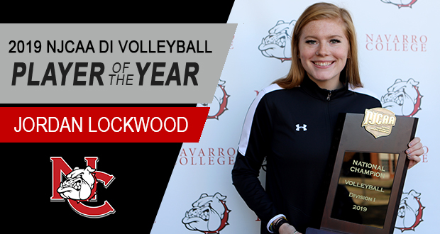 Jordan Lockwood Named Player of the Year by NJCAA and The American Volleyball Coaches Association