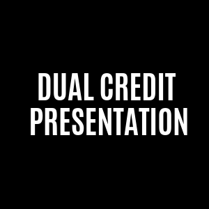 dual credit presentation button
