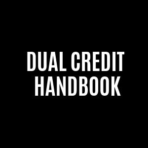 dual credit student handbook