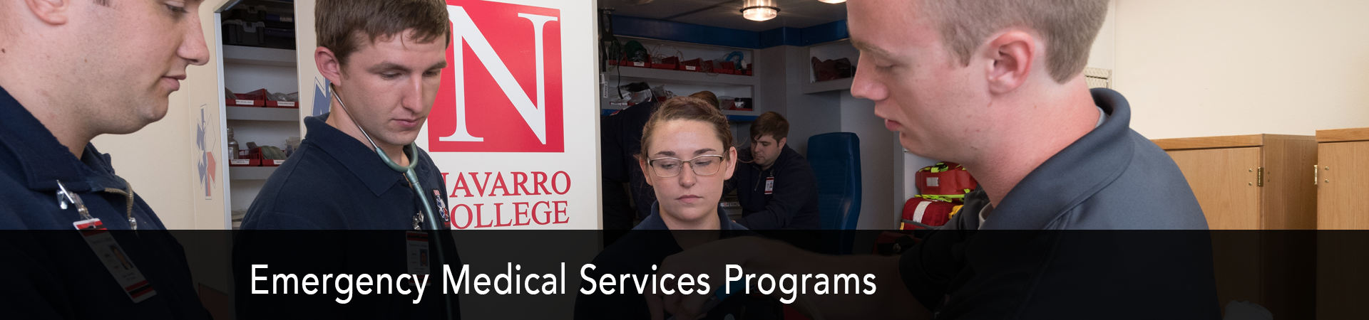 Explore the Emergency Medical Services Program at NC