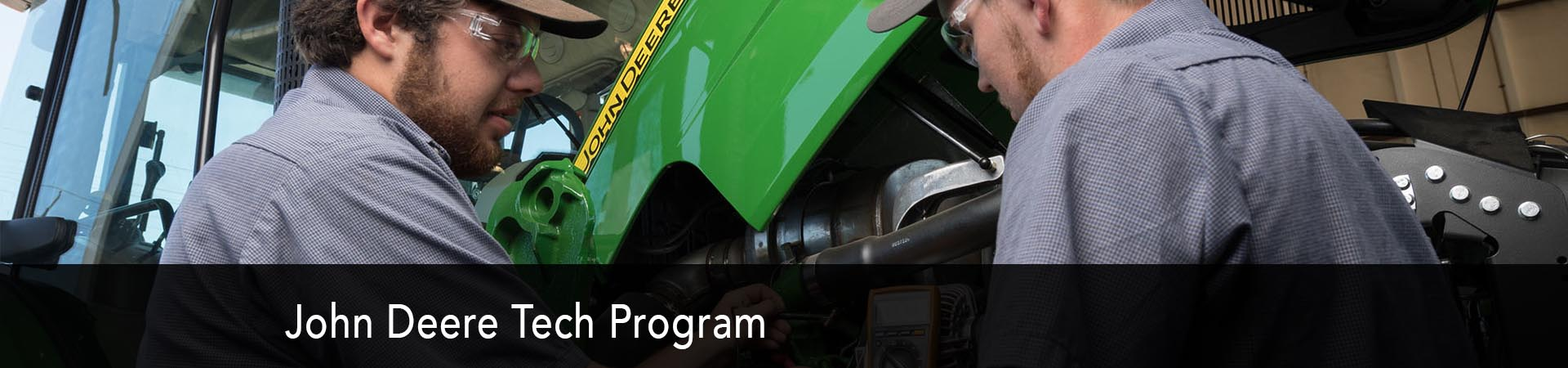 Explore the John Deere Tech Program at NC