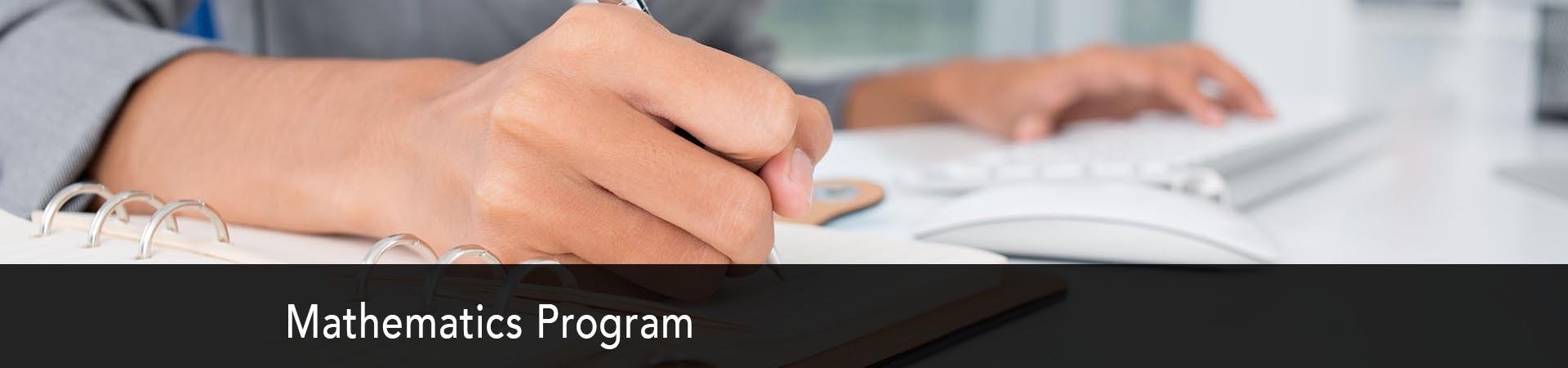 Explore the Mathematics Program at NC